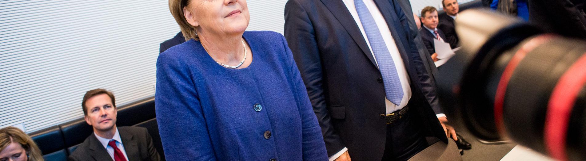 Erste Fraktionssitzung der CSU/CDU