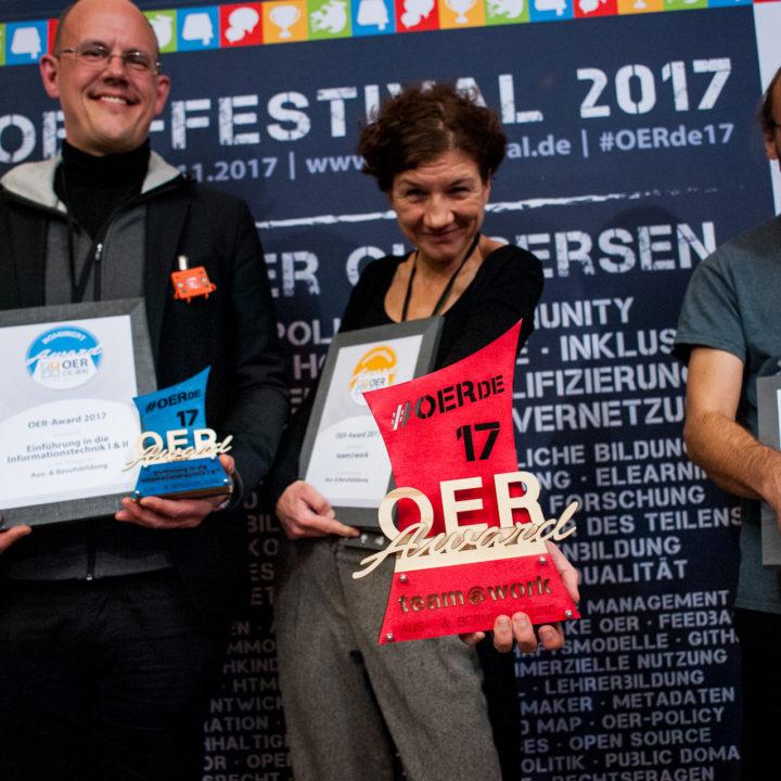 So sehen Sieger! OER-Award 2017